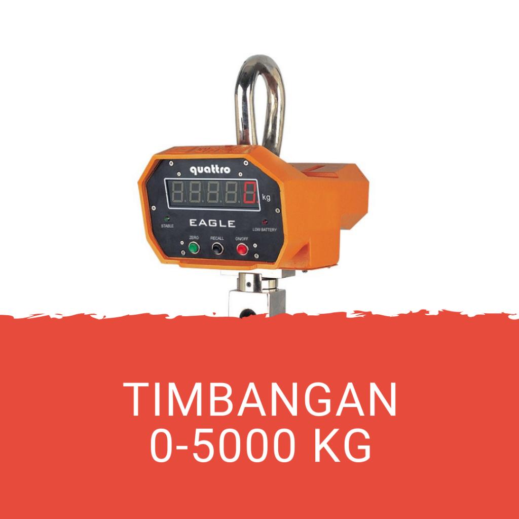 Jasa Kalibrasi Timbangan 0-5000 kg