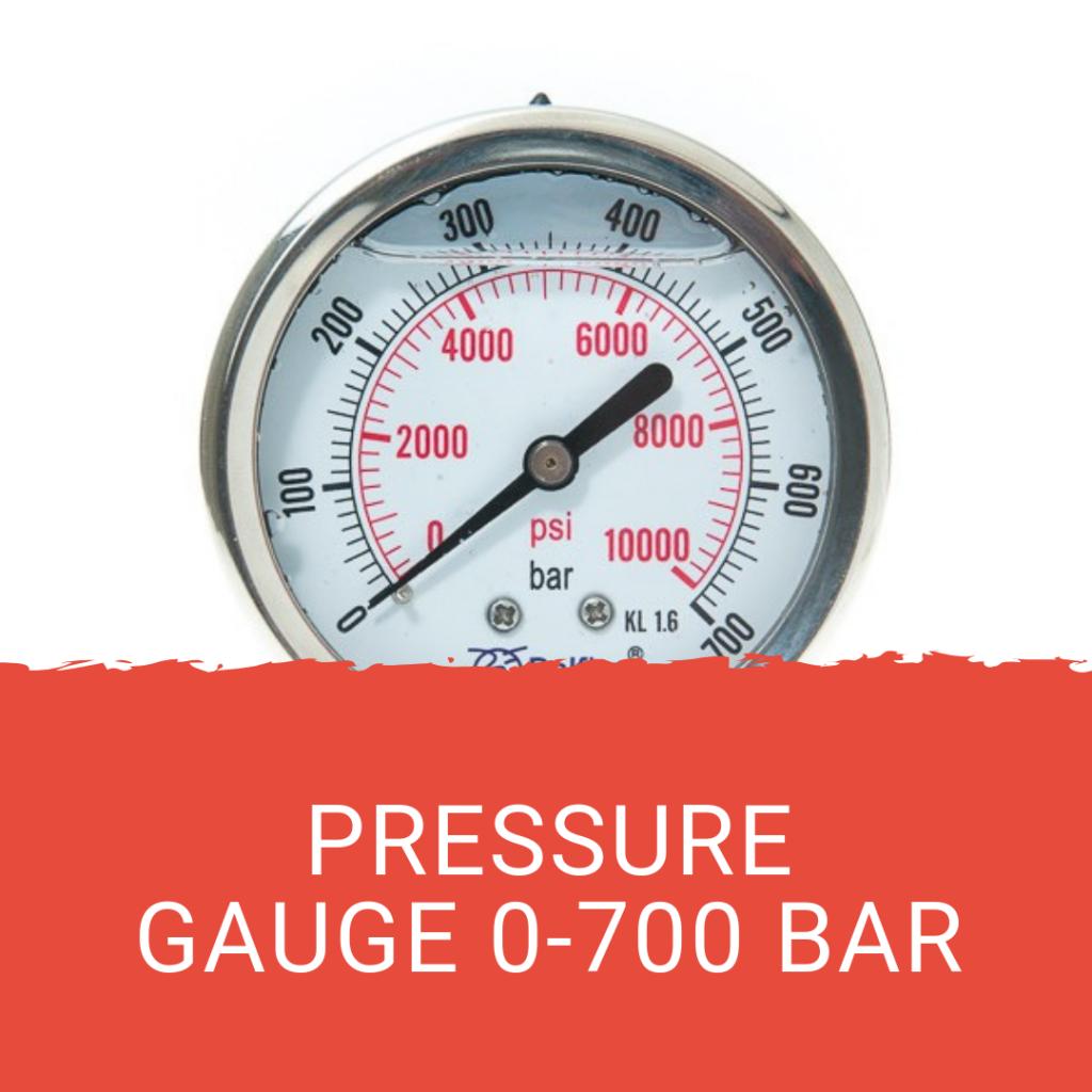 Jasa Kalibrasi Pressure Gauge 0-700 bar